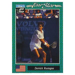 NETPRO DERRICK ROSTAGNO PROTOTYPE CARD 1992