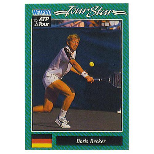 Boris Becker Prototype Card 1992