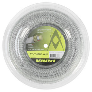 VOLKL SYNTHETIC GUT 17G CRYSTAL REEL STRING