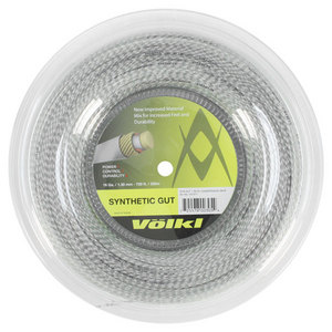 VOLKL SYNTHETIC GUT 16G CRYSTAL REEL STRING
