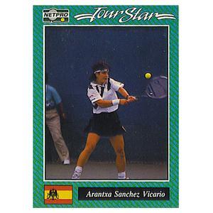Arantxa Sanchez Vicario Prototype Card