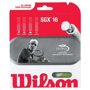WILSON SGX LIME 16G TENNIS STRING