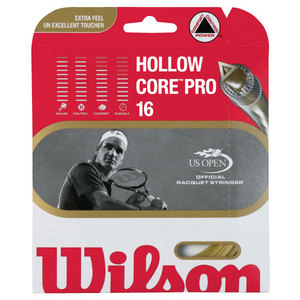 WILSON HOLLOW CORE PRO 16G TENNIS STRING