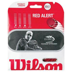 WILSON RED ALERT 16G TENNIS STRING