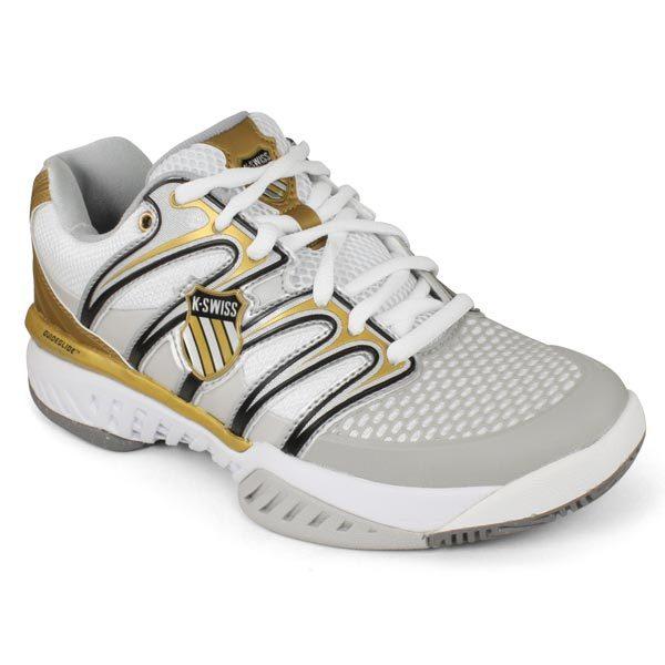 Women's Bigshot Tennis Shoes White/Grey/Gold