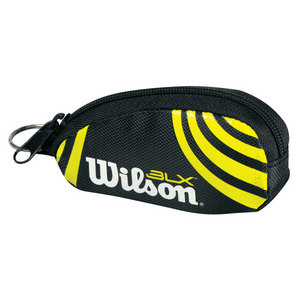 WILSON BLX BLACK/YELLOW TENNIS KEYCHAIN TOTE