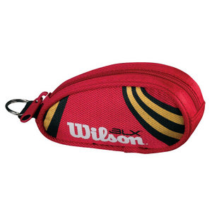 WILSON BLX RED/GOLD TENNIS KEYCHAIN TOTE