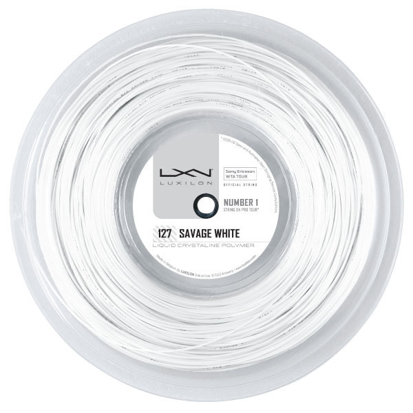 Savage White 127 16g Tennis String Reel