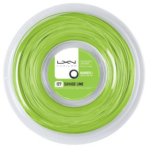 LUXILON SAVAGE LIME 127 16G TENNIS STRING REEL