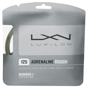 LUXILON ADRENALINE 125 ROUGH 16L TENNIS STRING