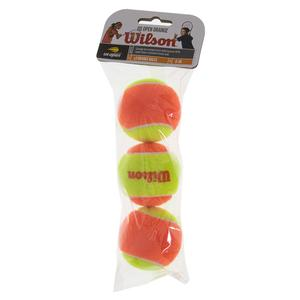 WILSON STARTER GAME 3 BALL BAG STAGE 2 FELT