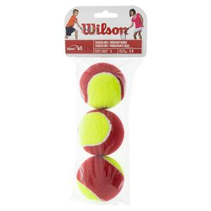 WILSON STARTER EASY 3 BALL PACK STAGE 3 FELT