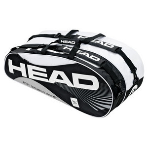 HEAD ATP COMBI BLACK/WHITE TENNIS BAG