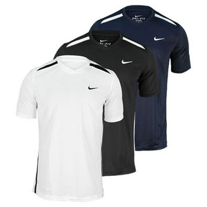 NIKE MENS NET UV TENNIS CREW