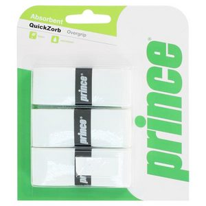 PRINCE QUICKZORB WHITE TENNIS OVERGRIP