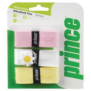 PRINCE ULTRAZORB FUN PINK WHITE YELLOW OVERGRIP