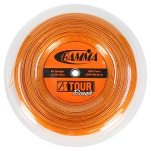 GAMMA ZO TOUR ROUGH 16G REEL TENNIS STRING