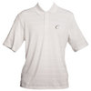 CRUISE CONTROL Men`s White Striped Tennis Polo