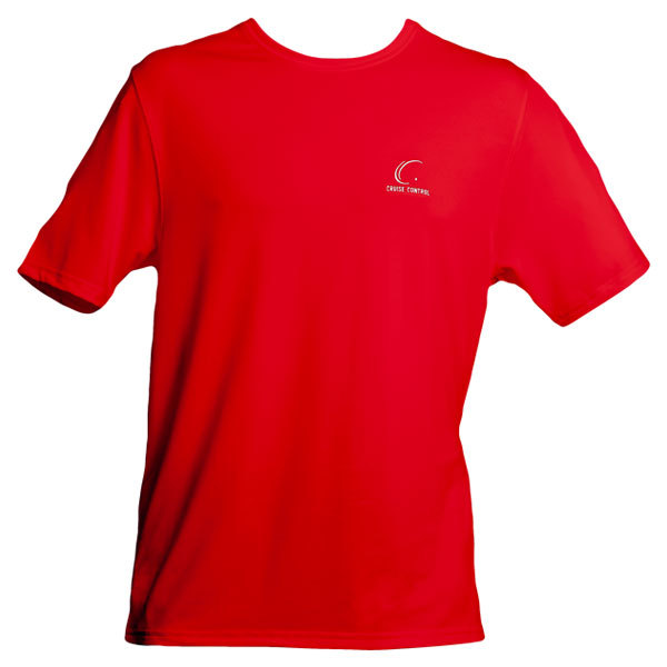 Men's Red Tennis Tee