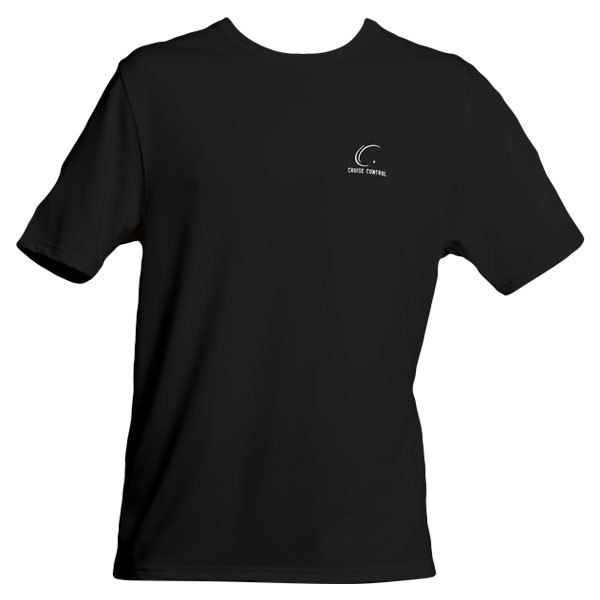 Men's Black Tennis Tee