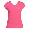 CRUISE CONTROL Women`s Pink Cap Sleeve Tennis Tee