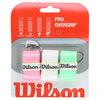 WILSON Pro Overgrip Assorted 3 Pack