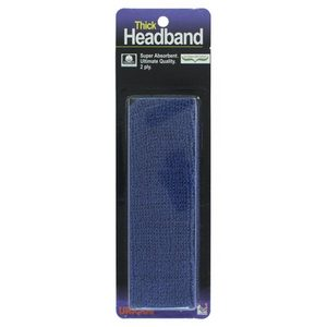 TOURNA THICK HEADBAND BLUE