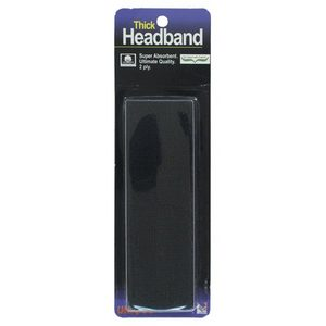 TOURNA THICK HEADBAND BLACK