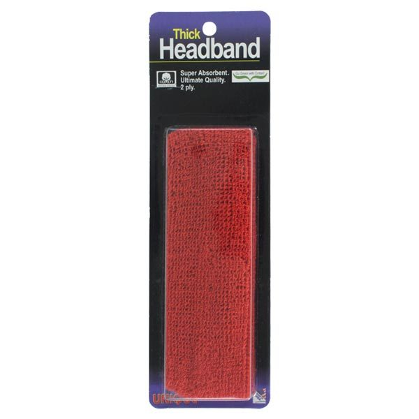 Thick Headband Red