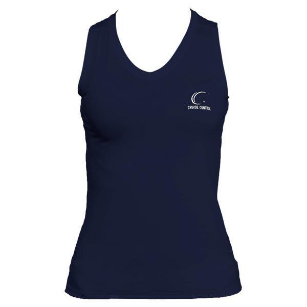 Women's Navy Sleevele