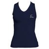 CRUISE CONTROL Women`s Navy Sleeveless Tennis Tee