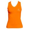 CRUISE CONTROL Women`s Orange Sleeveless Tennis Tee