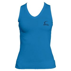 Women`s Pacific Blue Sleeveless Tennis Tee