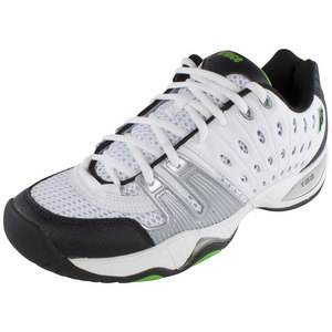 T22 Men`s Tennis Shoes White/Black/Green
