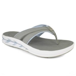 NEW BALANCE WOMENS TRUE BALANCE GRAY THONG