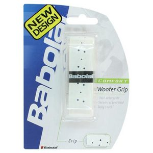 BABOLAT WOOFER REPLACEMENT GRIP WHITE WITH BLUE