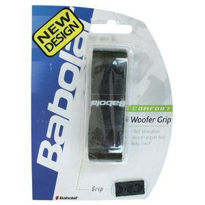 BABOLAT WOOFER REPLACEMENT GRIP BLACK WITH BLUE