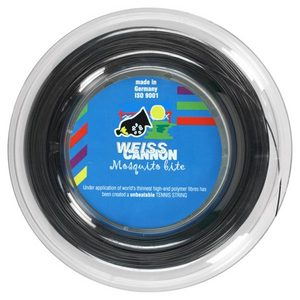 WEISS CANNON MOSQUITO BITE 1.16 REEL TENNIS STRING