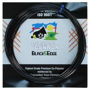 WEISS CANNON BLACK5EDGE 17G TENNIS STRING