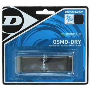 DUNLOP OSMO DRY BLACK REPLACEMENT GRIPS