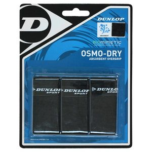 DUNLOP OSMO DRY BLACK OVERGRIPS