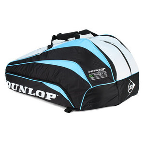DUNLOP BIOMIMETIC 10 RACQUET BLUE THERMO BAG