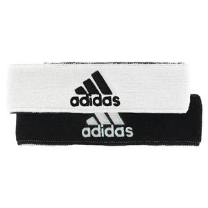 adidas INTERVAL REVERSIBLE HEADBAND BK/WH