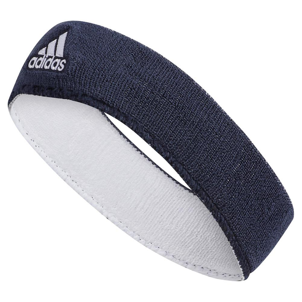 Adidas Interval Rvrsble Tennis Headband Nv Wh