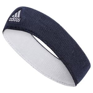 Interval Reversible Tennis Headband Navy and White