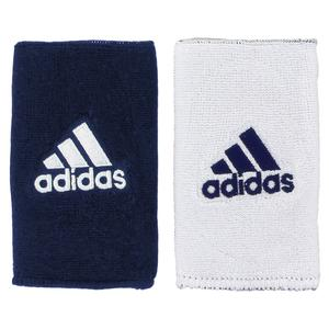 adidas INTERVAL LARGE REVERSIBLE WRISTBAND NVY