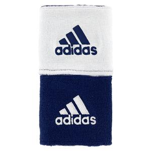 adidas INTERVAL RVRSIBLE TENNIS WRISTBAND NV/WH