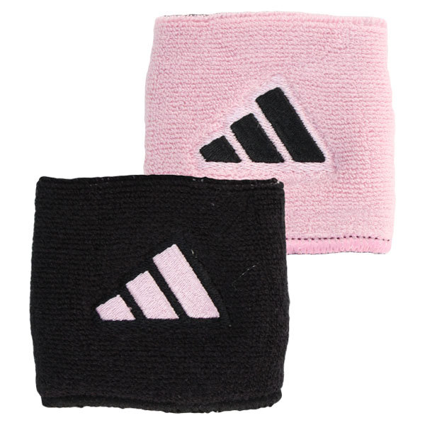 Interval Reversible Tennis Wristband Black And Pink