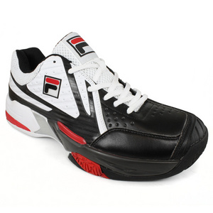 FILA MENS R8 WHITE/BLACK TENNIS SHOES