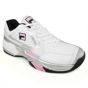 FILA WOMENS R8 WHITE/BLACK TENNIS SHOES